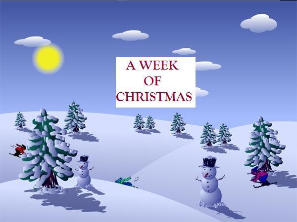 A week of christmas 5