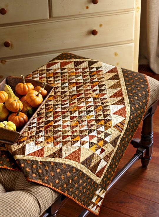 Fall Table Topper - Fat Cat Quilts : fall quilt - Adamdwight.com